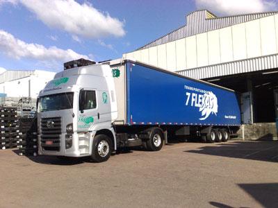 Transportadora 7 Flexas - Caminhão